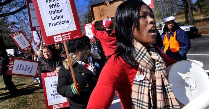 Piden más enfermeras en hospitales de DC
