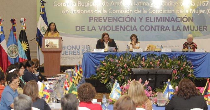 Mujeres de Latinoamérica se unen contra la violencia