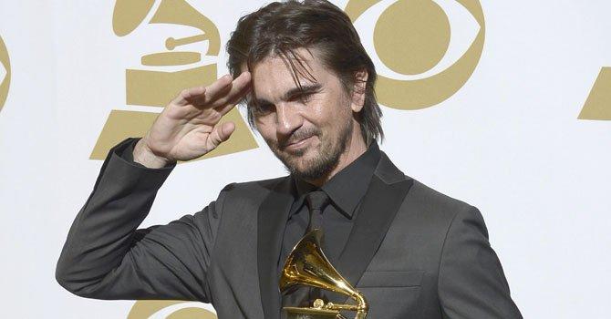 El cantante colombiano Juanes ganó un Grammy por mejor Album Pop Latino el domingo 10 de febrero.
