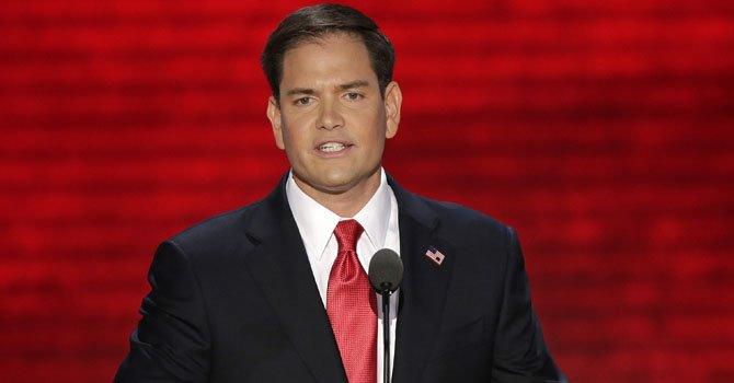 El senador republicano por la Florida, Marco Rubio.