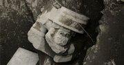 Una escultura de Huehuetéotl, dios viejo o del fuego, hallada por arqueólogos del Instituto Nacional de Antropología e Historia en la cúspide de la Pirámide del Sol en Teotihuacan.