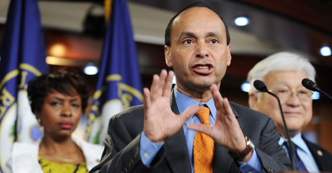 El legislador demócrata de Illinois, Luis Gutiérrez.