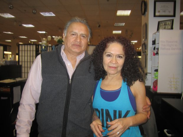 """Sabino y Gabriela Espinoza, casados por 37 años. """"El amor está siempre presente""""."""