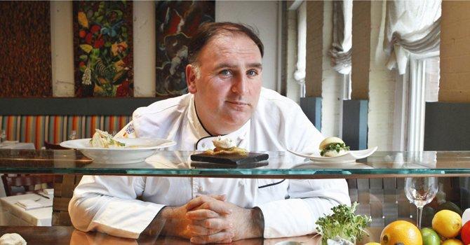 Chef José Andrés abre en DC innovadora coctelería