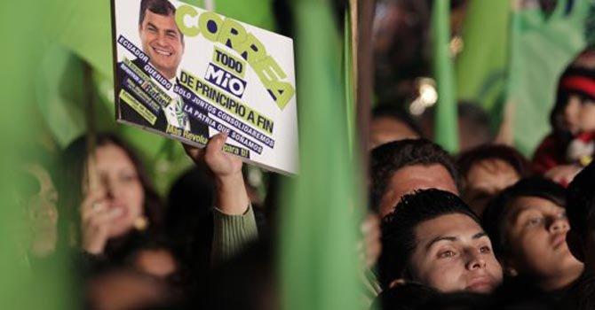 Tranquila jornada electoral en Ecuador