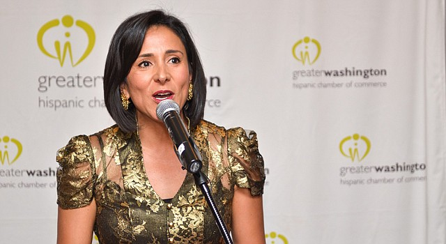 Angela Franco, presidenta de la Greater Washington Hispanic Commerce Chamber.