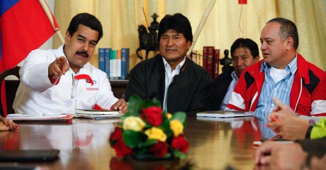 Venezuela: Evo Morales llega para visitar a Chávez