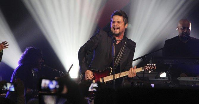 El cantautor español Alejandro Sanz.
