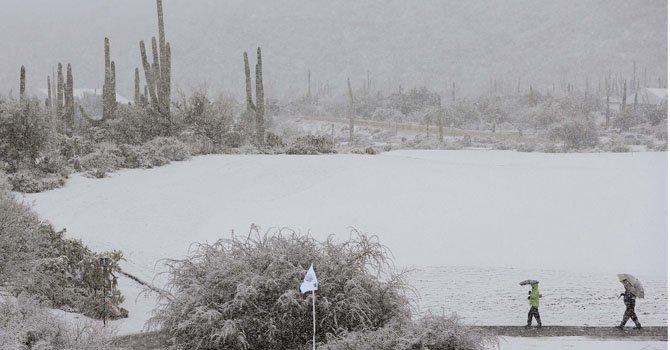 Tormenta de nieve azota centro y oeste del país