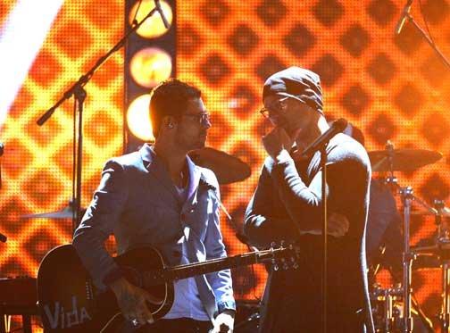Ricky Martin y Robi Draco Rosa