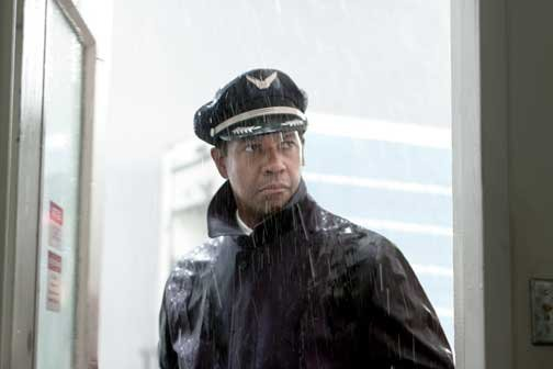 "Denzel Washington, nominado a Mejor Actor por ""The Flight""."