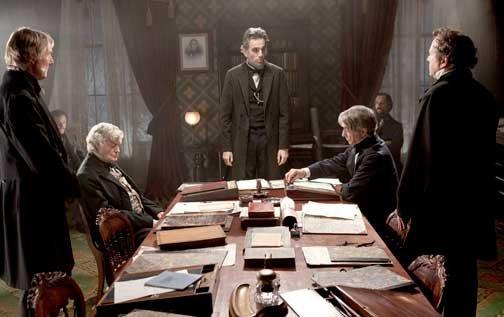 """Mejor Actor por """"Lincoln""""."""