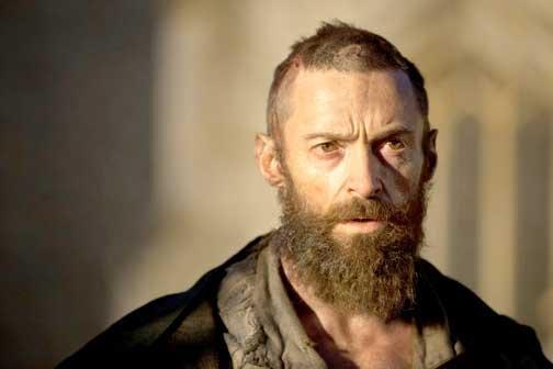 """Hugh Jackman, nominado a Mejor Actor por """"Les Miserables""""."""