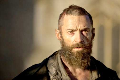 "Hugh Jackman, nominado a Mejor Actor por ""Les Miserables""."