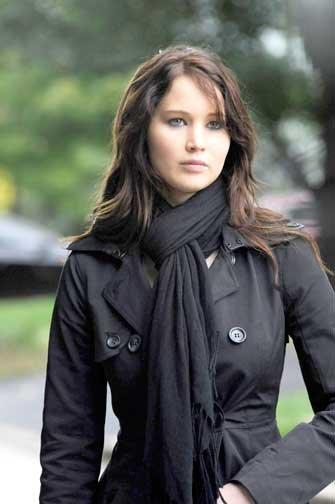 """Jennifer Lawrence, Mejor Actriz por """"Silver Linings Playbook""""."""