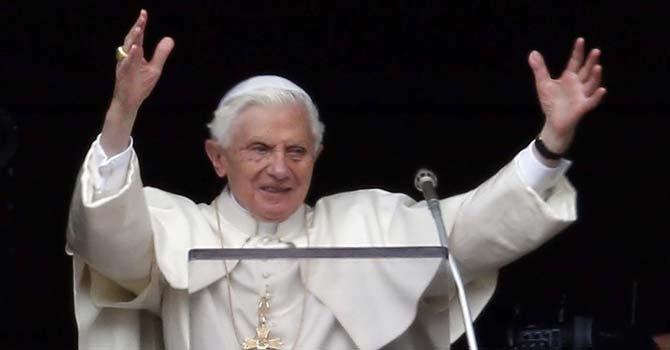 El Papa Benedicto XVI dirigió su último Ángelus el domingo 24 de febrero.