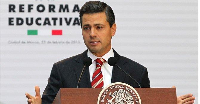 Peña Nieto promulga reforma educativa