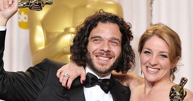 """Sean Fine y Andrea Nix, los directores de """"Inocente"""", el domingo 24."""