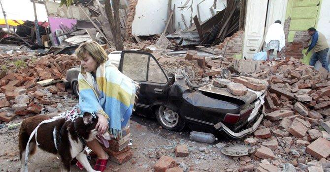 Recuerdan a las víctimas del terremoto de Chile
