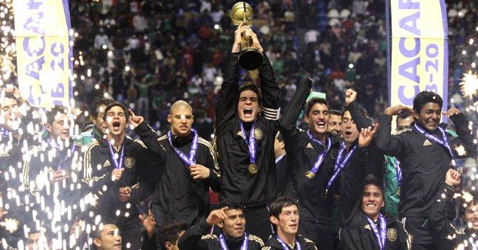 México campeón del Sub 20 de la Concacaf