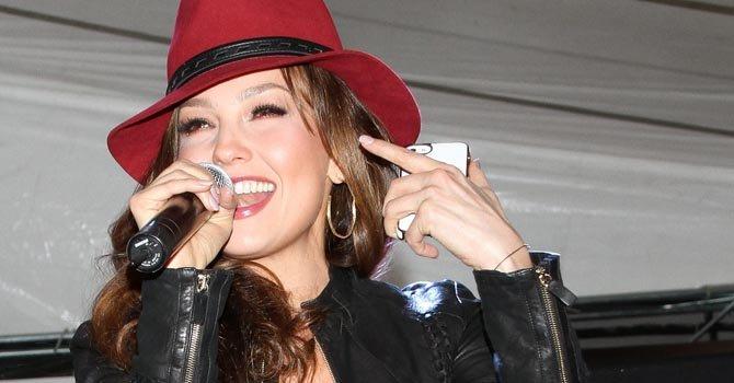 Thalía cantará en Chicago, Los Ángeles, Houston y Nueva York.