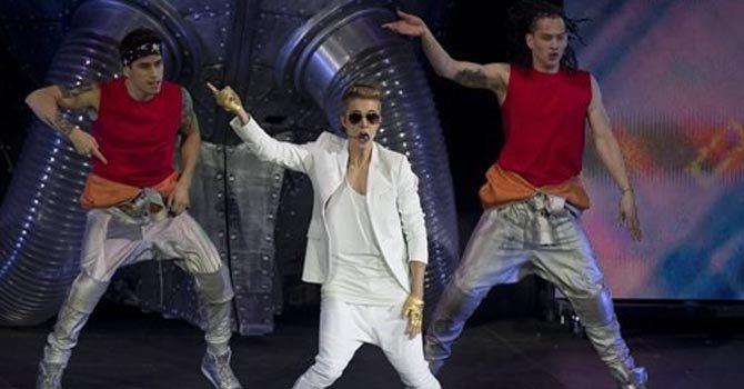 Justin Bieber se desmayó en Londres
