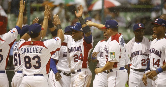 Semifinales latinas en Mundial de Béisbol