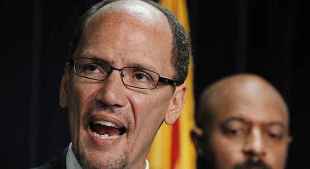 El fiscal adjunto de Justicia y jefe de la división de derechos civiles de ese departamento, Tom Pérez, nominado por Obama para secretario de Trabajo.