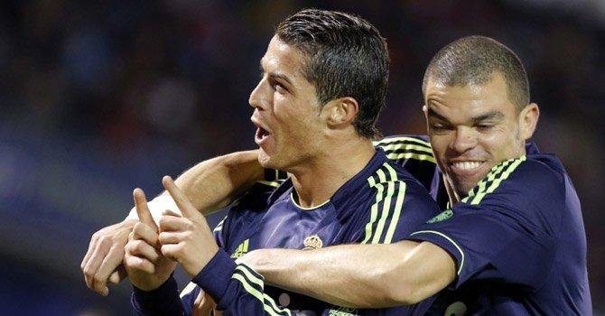 Real Madrid escolta al Barcelona en la Liga