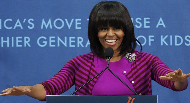 La primera dama Michelle Obama.