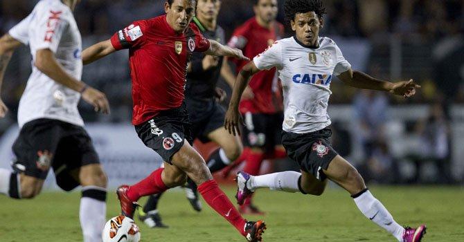 Libertadores: Corinthians tumba invicto de Tijuana