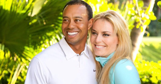 Tiger Woods y Lindsey Vonn son novios