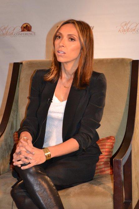 Giuliana Rancic, periodista, presentadora, productora y sobreviviente de cancer del seno.