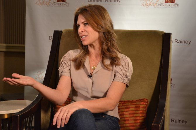 "Jillian Michaels, entrenadora en ""The Biggest Loser"", ha publicado varios libros y videos de ejercicios."