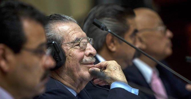 Crisis en Guatemala tras anulación de juicio de Ríos Montt