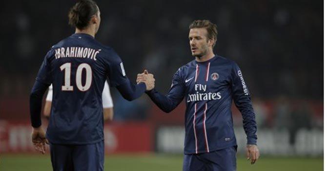 Beckham quiere ser titular y enfrentar al Barcelona