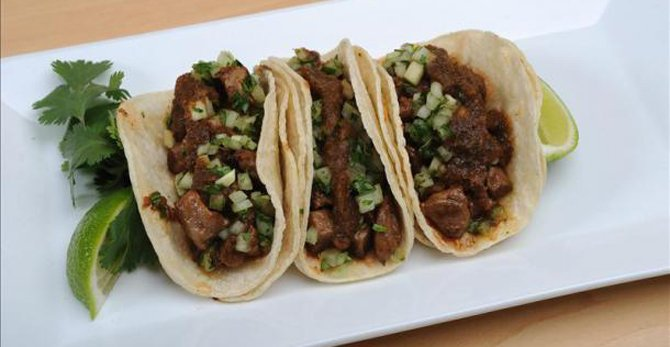 how to cook carne para tacos