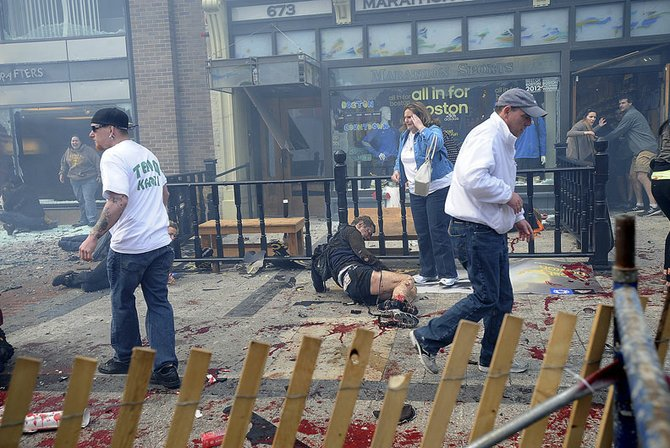 Más de 140 personas resultaron heridas a causa de las explosiones del 15 de abril.