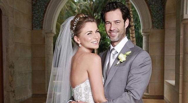 La actriz Ludwika Paleta contrajo matrimonio con Emiliano Salinas Ocelli, hijo del ex presidente mexicano Carlos Salinas de Gortari.