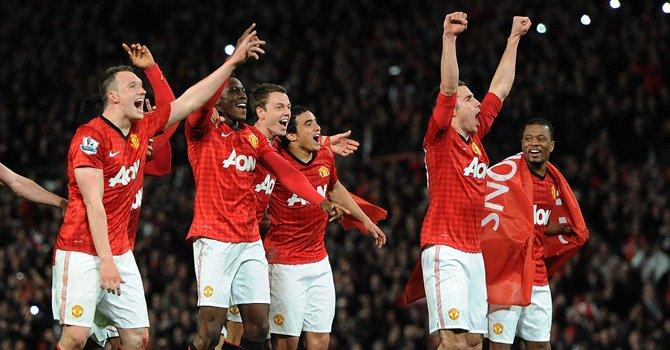 Manchester United campeón de Inglaterra