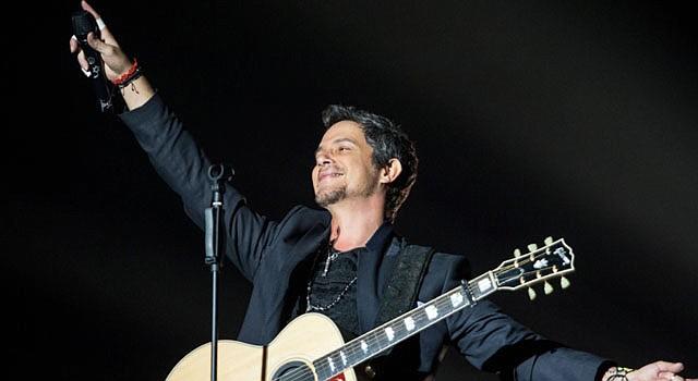 El cantautor Alejandro Sanz.