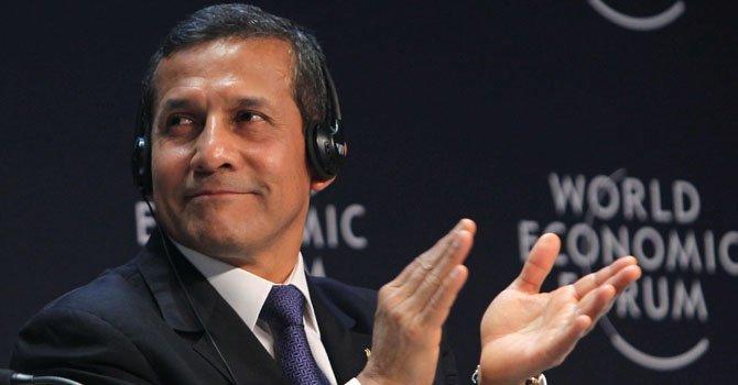 Baja la aprobación de Ollanta Humala
