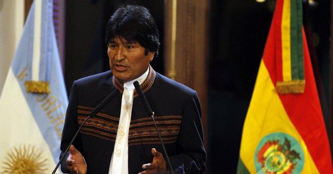 Constitucional avala candidatura de Evo Morales a un tercer mandato en 2014
