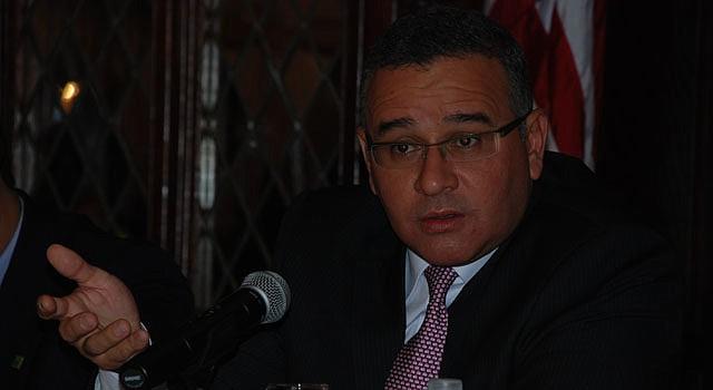 El presidente de El Salvador Mauricio Funes.