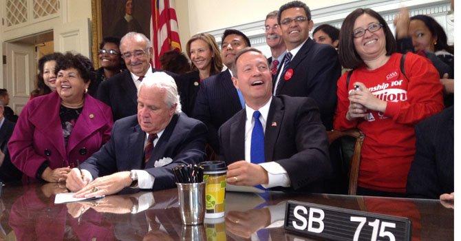 MD: Gobernador firma ley de licencias para indocumentados