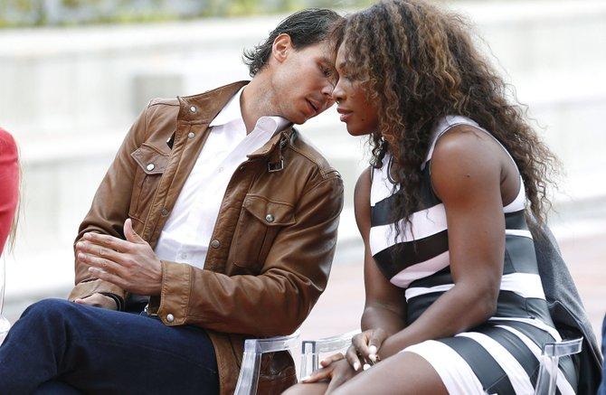 Grandes del tenis en el Abierto de Madrid