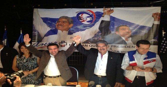 Candidato presidencial salvadoreño en DC