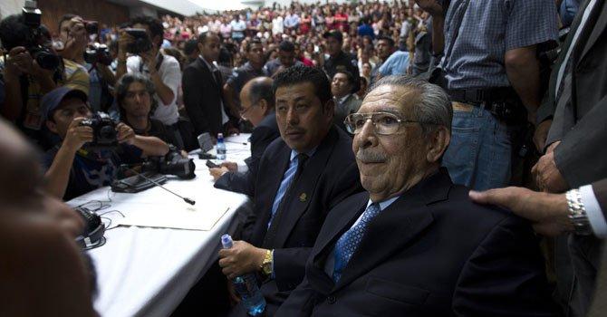 Guatemala: Ríos Montt dice que apelará su veredicto