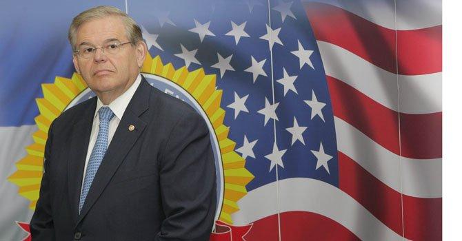 El senador demócrata por Nueva Jersey Robert Menéndez.