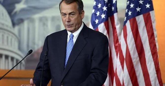 Boehner condena las palabras de Steve King
